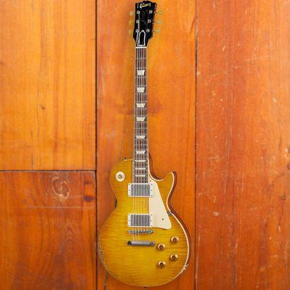Gibson CS 1959 Les Paul Standard Reissue, Lemon Burst, Murphy Lab Ultra Heavy Aged