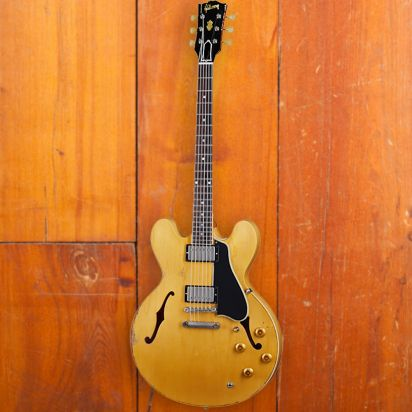 Gibson 1959 ES-335 Reissue, Vintage Natural, Murphy Lab Ultra Heavy Aged