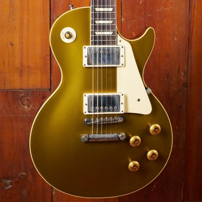 Gibson CS 1957 Les Paul Gold Top Darkback, Double Gold VOS NH