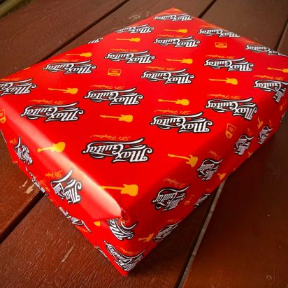 Max Guitar Gift Wrap - Select This Option to have your Package Gift Wrapped