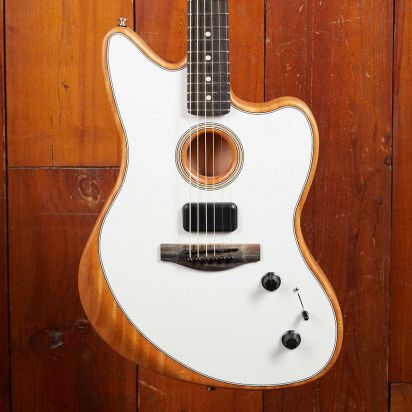 Fender American Acoustasonic Jazzmaster, Arctic White