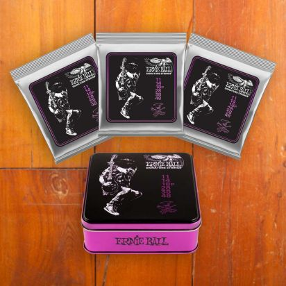 Ernie Ball Slash Signature Strings, 3-Pack, 11-48