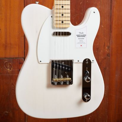 Fender Made in Japan Traditional 50s Telecaster, Maple Fingerboard, White Blonde