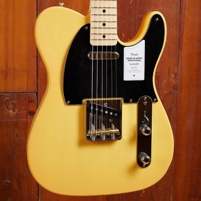 Fender Made in Japan Traditional 50s Telecaster, Maple Fingerboard, Butterscotch Blonde