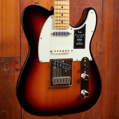 Fender Player Plus Nashville Telecaster MN 3-Color Sunburst