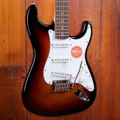Squier Affinity Startocaster, Laurel Fingerboard, 3-Tone Sunburst