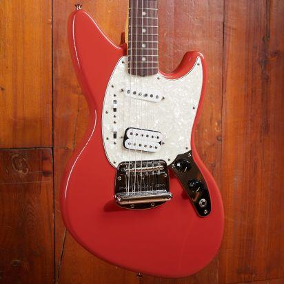 Fender Cobain Jag-Stang, Rosewood, Fiesta Red