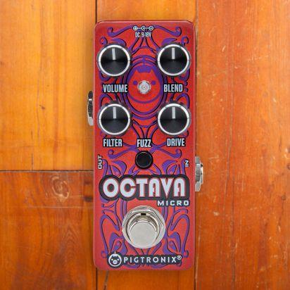 Pigtronix Octava, Analog Octave Fuzz