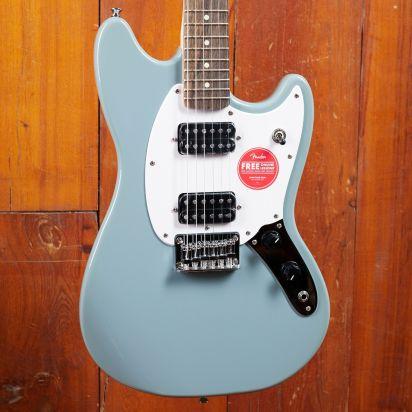 Squier Bullet Mustang HH, Laurel Fingerboard, Sonic Grey