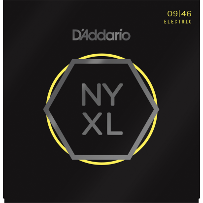 D'Addario NYXL0946 Super Light Top/Regular Bottom, 09-46