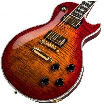 Gibson CS Les Paul Axcess Custom Figured Top - gloss bengal burst