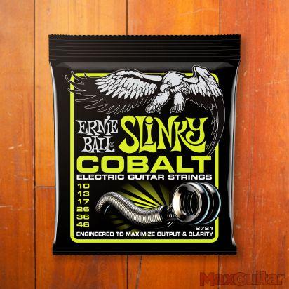 Ernie Ball Cobalt Slinky, Regular, .010 - .046