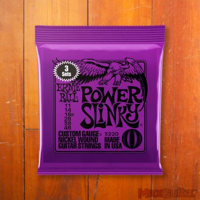 Ernie Ball Slinky Nickel, 3-Pack Power, .011 - .048