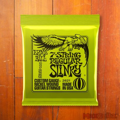 Ernie Ball Slinky Nickel, 7-string Regular, .010 - .056