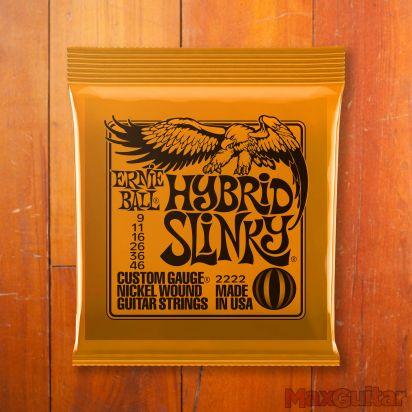 Ernie Ball Slinky Nickel, Hybrid, .009 - .046