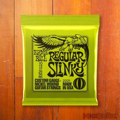 Ernie Ball Slinky Nickel, Regular, .010 - .046