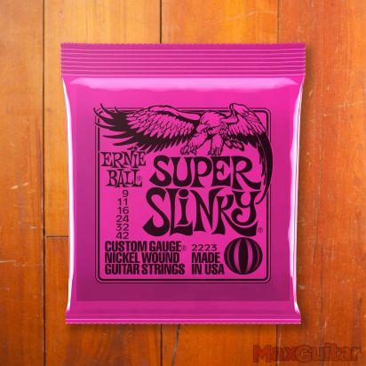 Ernie Ball Slinky Nickel, Super, .009 - .042
