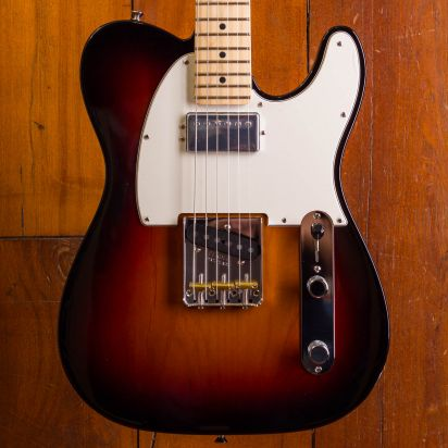 Fender American Performer Telecaster with Humbucking, Maple Fingerboard, 3-Color Sunburst