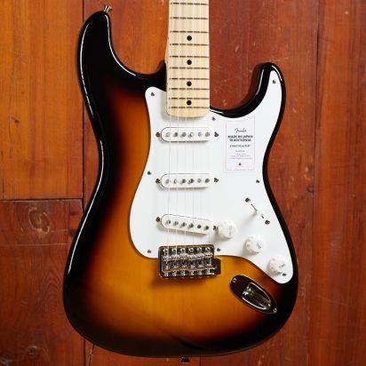 Fender Made in Japan Traditional 50s Stratocaster, 2-Color Sunburst
