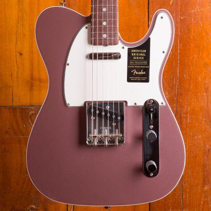 Fender American Original 1960s Telecaster, Rosewood, Burgundy Mist