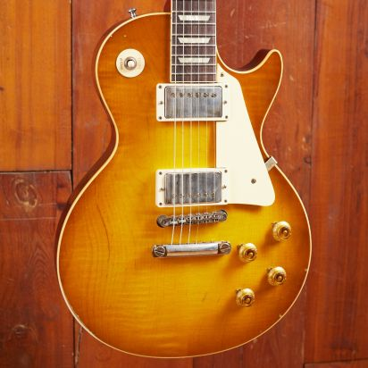 Gibson CS 1958 Les Paul Standard Reissue, Lemon Burst, Murphy Lab Light Aged
