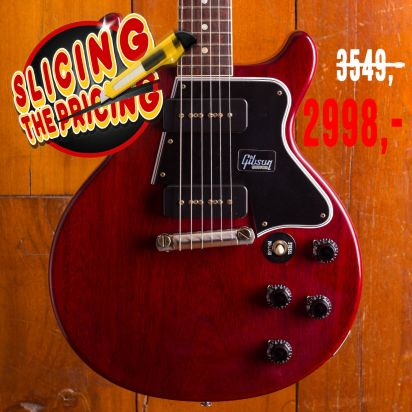 Gibson CS Les Paul Special 1960s Double Cut Rosewood Fingerboard Cherry Red VOS