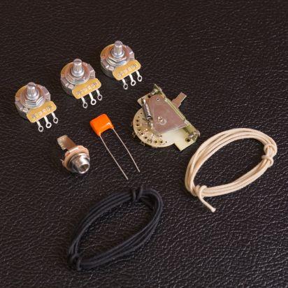 GuitarSlingerParts Premium Stratocaster Wiring Kit