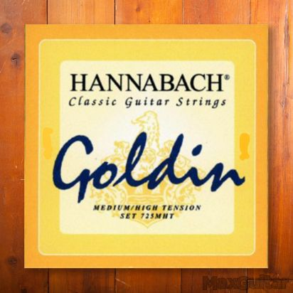 Hannabach 725MHT, Medium/High Tension Goldin