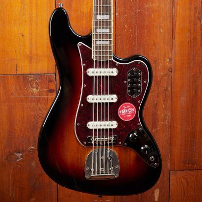 Squier Classic Vibe Bass VI, Laurel Fingerboard, 3-Tone-Sunburst