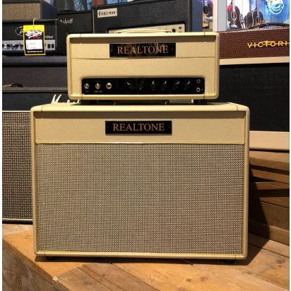 Real Tone - Amp Set - 33 watt Full Tube Head and Cabinet (sold as set only)