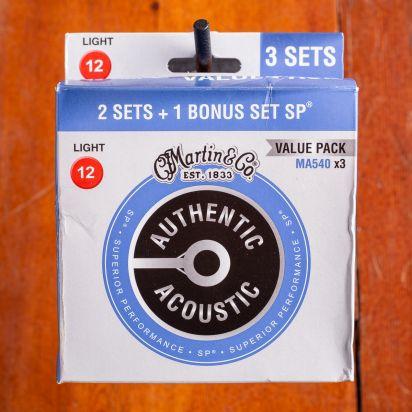 Martin CMA MA540PK3, Authentic Pack van 3