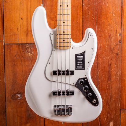 Fender Player Jazz Bass Maple Neck Polar White