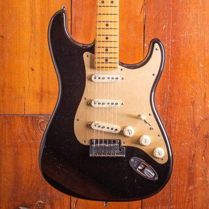 Fender Am Ultra Strat Mn Midnight