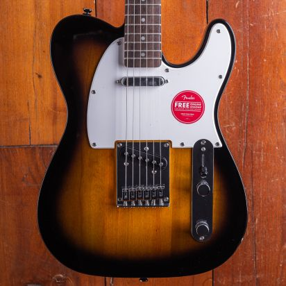Squier Bullet Telecaster, Laurel Fingerboard, Brown Sunburst