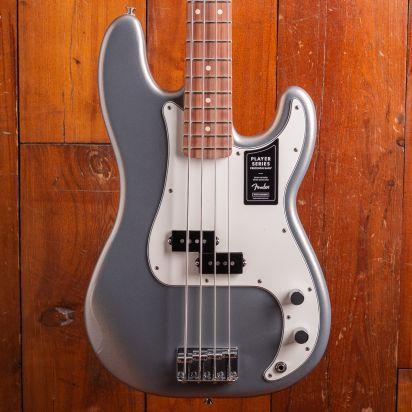 Fender Player Precision Bass PF Silver