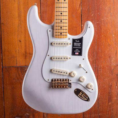 Fender LTD American Original 1950s Stratocaster, Maple Neck, Mary Kaye White Blonde