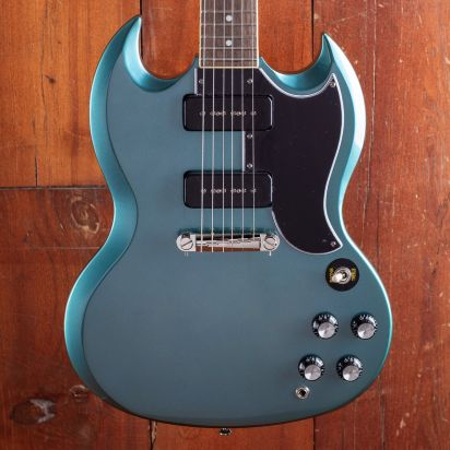 Epiphone SG special P-90 Indian Laurel Fingerboard Faded Pelham Blue