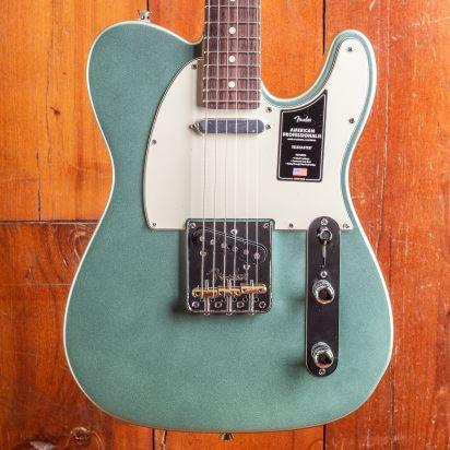 Fender American Professional II Telecaster, Rosewood, Mystic Seafoam Green