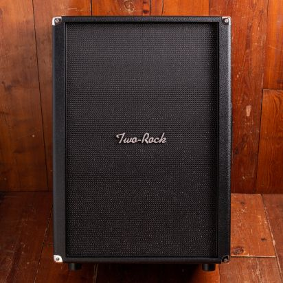 Two-Rock 2X12 Open Back Cabinet Black Bronco