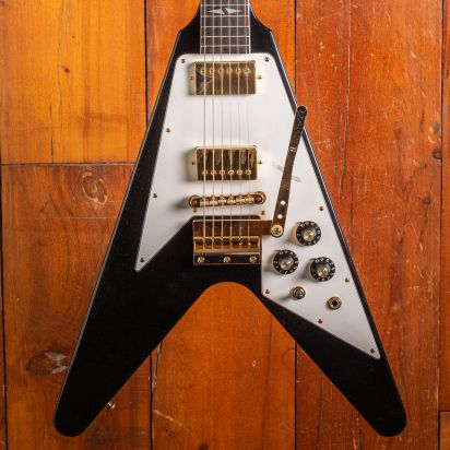 Gibson CS 1969 Flying V Jimi Hendrix, Ebony