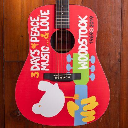 Martin DX Woodstock 50th Anniversary