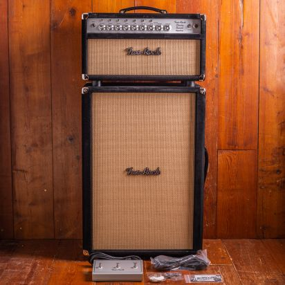Two-Rock Classic Reverb Head Black Suede + 2x12 Black Suede