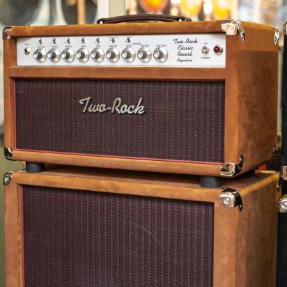Two-Rock Classic Reverb 100W head + 212 Cab Tobacco Suede