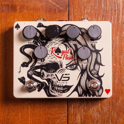 VS Audio Royal Flush Dual Overdrive-Distortion