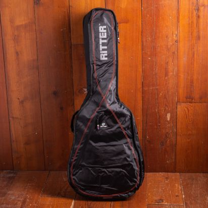 Ritter Klassiek 4/4 Black/Red Gigbag