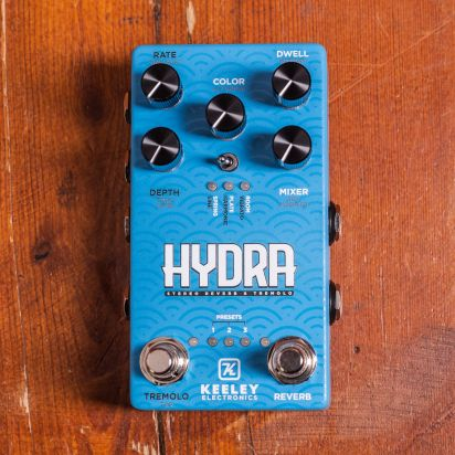 Keeley Hydra Stereo Reverb/Tremolo