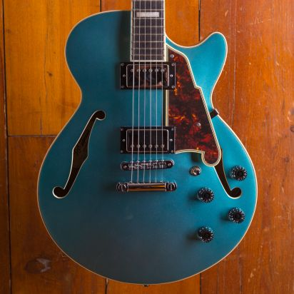 D'Angelico Premier SS, Ocean Turquoise