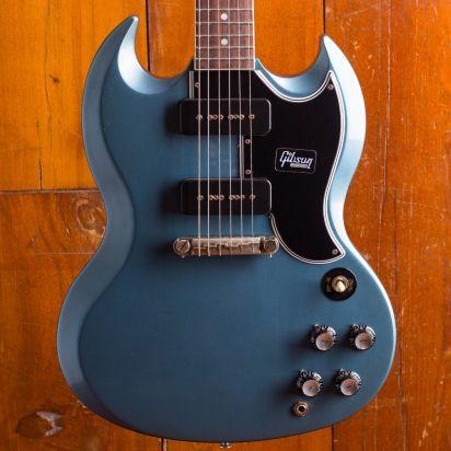 Gibson CS 1963 SG Special Reissue Pelham Blue