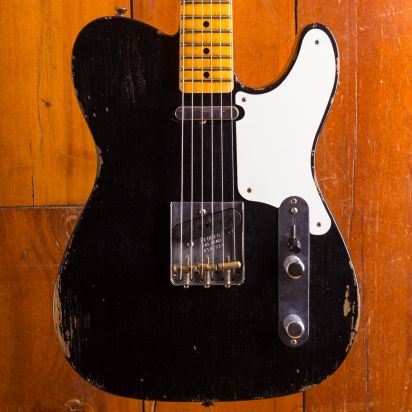 Fender CS Limited Roasted Pine Double Esquire