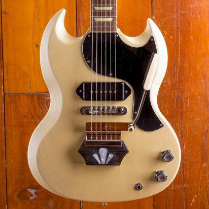 Gibson CS Brian Ray 1962 SG Junior, White Fox